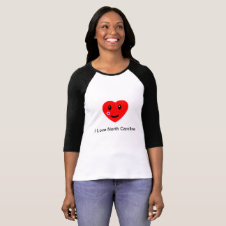 I heart North Carolina T-Shirt