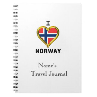 I HEART NORWAY NOTEBOOK