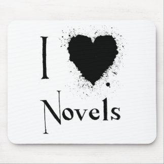 I Heart Novels Mouse Pad