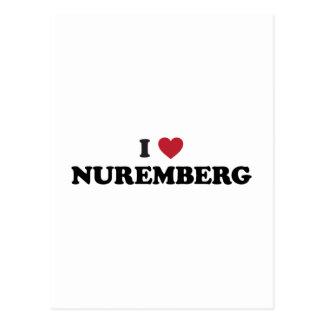 I Heart Nuremberg Germany Postcard