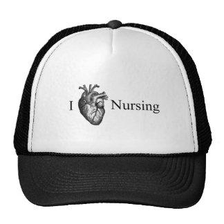 I Heart Nursing Hats