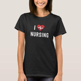 I heart nursing I love nursing tee