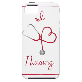 I Heart Nursing Phone Case