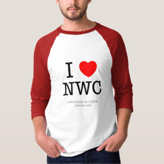 I Heart NWC - Red T-Shirt