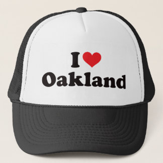 I Heart Oakland Trucker Hat