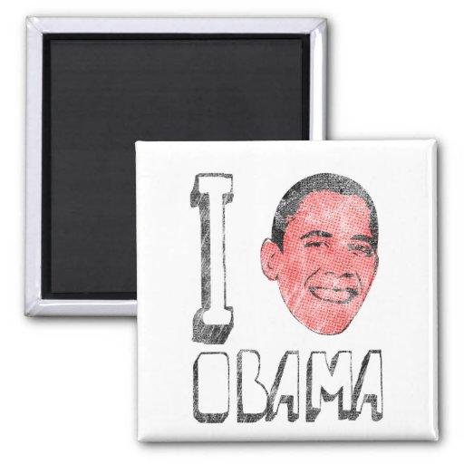 I Heart Obama Magnet Fridge Magnets