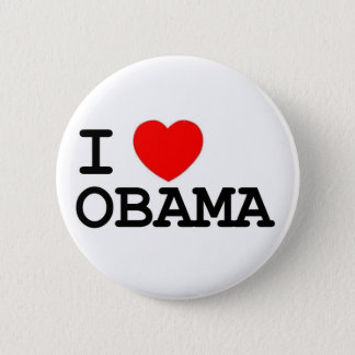 I Heart Obama Pin