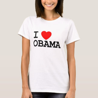 I Heart Obama Tee- Women T-Shirt