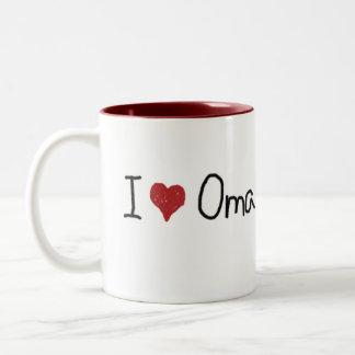 I Heart Oma Mug