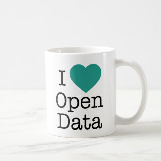 I Heart Open Data Mug