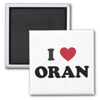 I Heart Oran Algeria Magnet