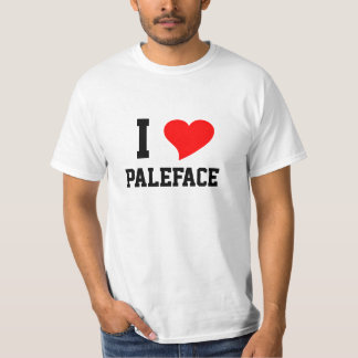 I Heart PALEFACE Tshirts