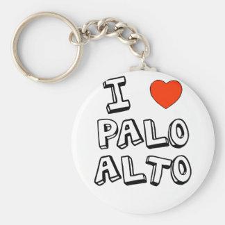 I Heart Palo Alto Key Ring