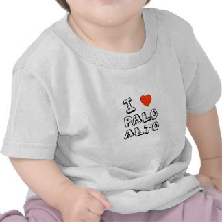 I Heart Palo Alto Shirts