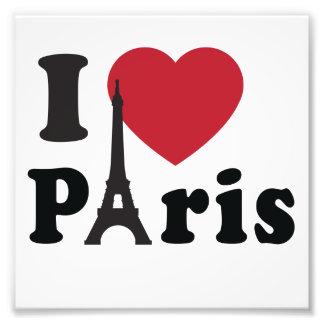 I Heart Paris Art Photo