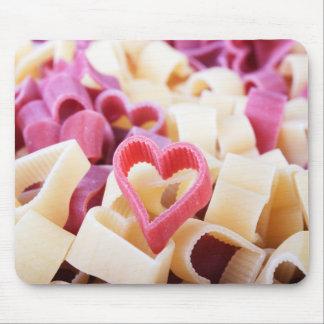 I Heart Pasta Mouse Pad