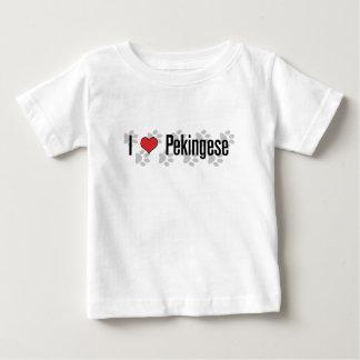 I (heart) Pekingese Baby T-Shirt