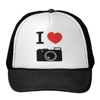 I HEART PHOTOGRAPHY CAP