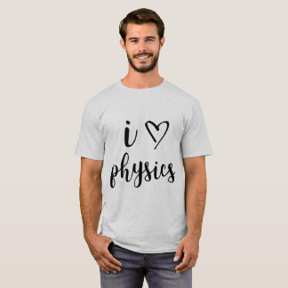 I Heart Physics Men's Shirt