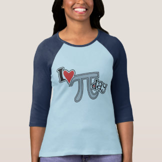 I heart Pi Day Cool Pi T-Shirt