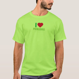 I Heart Pickle Ball Dill With It Funny Deal T Shir T-Shirt