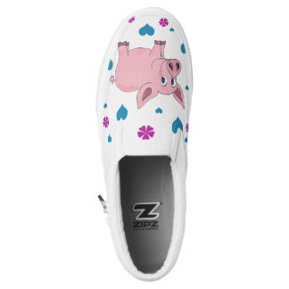 I heart Pigs Vegan Shoe
