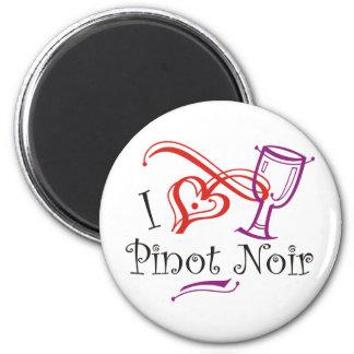 I Heart Pinot Noir Fridge Magnet