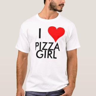 I Heart Pizza Girl T-Shirt