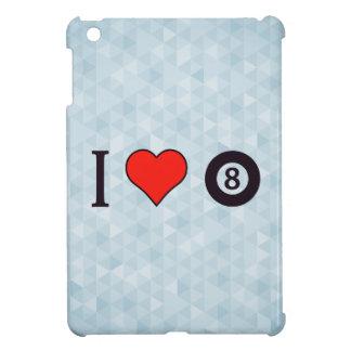 I Heart Playing Billiard iPad Mini Cases