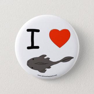 I Heart Plecostomuses Button