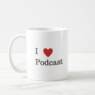 I Heart Podcast Mug