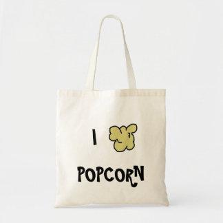 I Heart Popcorn Tote