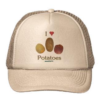 I Heart Potatoes Mesh Hat