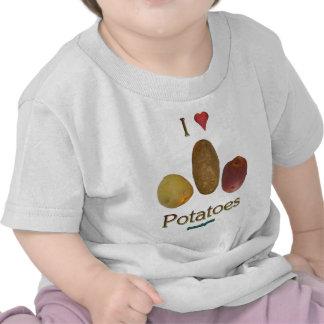 I Heart Potatoes Tshirt
