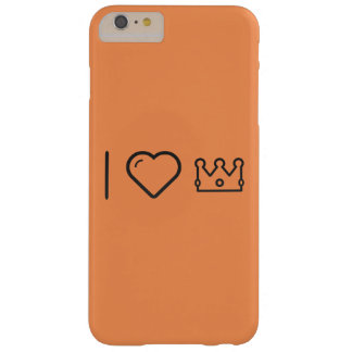 I Heart Priest Crowns Barely There iPhone 6 Plus Case