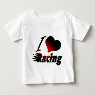 I Heart Racing #1 Baby T-Shirt