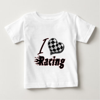 I Heart Racing #2 Baby T-Shirt