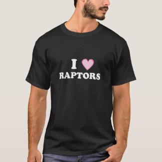 I HEART RAPTORS - AWARE T-Shirt