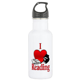 I Heart Reading 532 Ml Water Bottle
