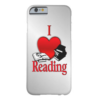 I Heart Reading Barely There iPhone 6 Case