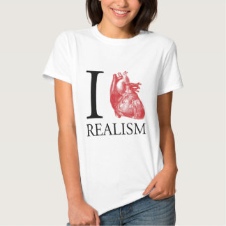 I Heart Realism T Shirts