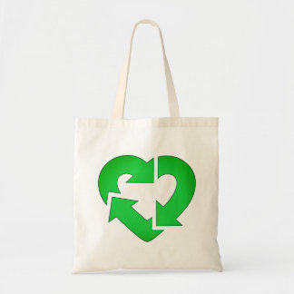 I Heart Recycle Tote Bag