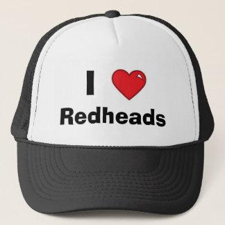 I Heart Redheads -- Mesh Hat