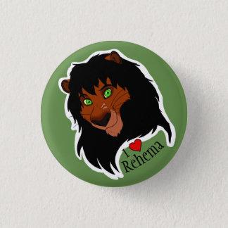 """I """"Heart"""" Rehema small button"""