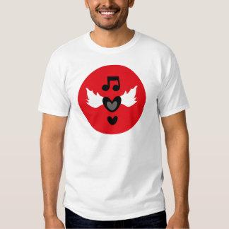 """I Heart Rock Music"" Tshirts"