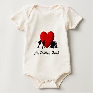 I Heart Rock & Roll Baby Bodysuit