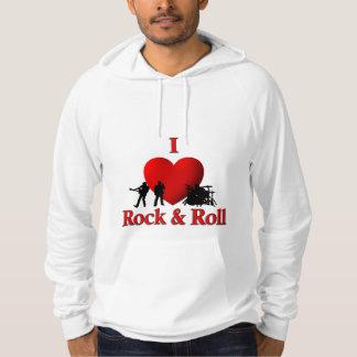 I Heart Rock & Roll Hoodie