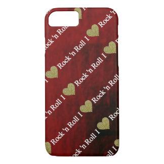 I heart Rock'n Roll iPhone 7 Case