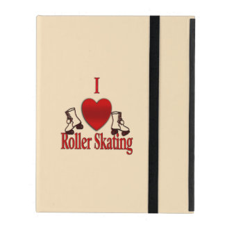 I Heart Roller Skating Covers For iPad