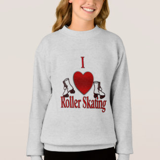 I Heart Roller Skating Sweatshirt